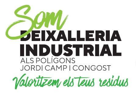 Deixalleria industrial als Polígons Jordi Camp i Congost