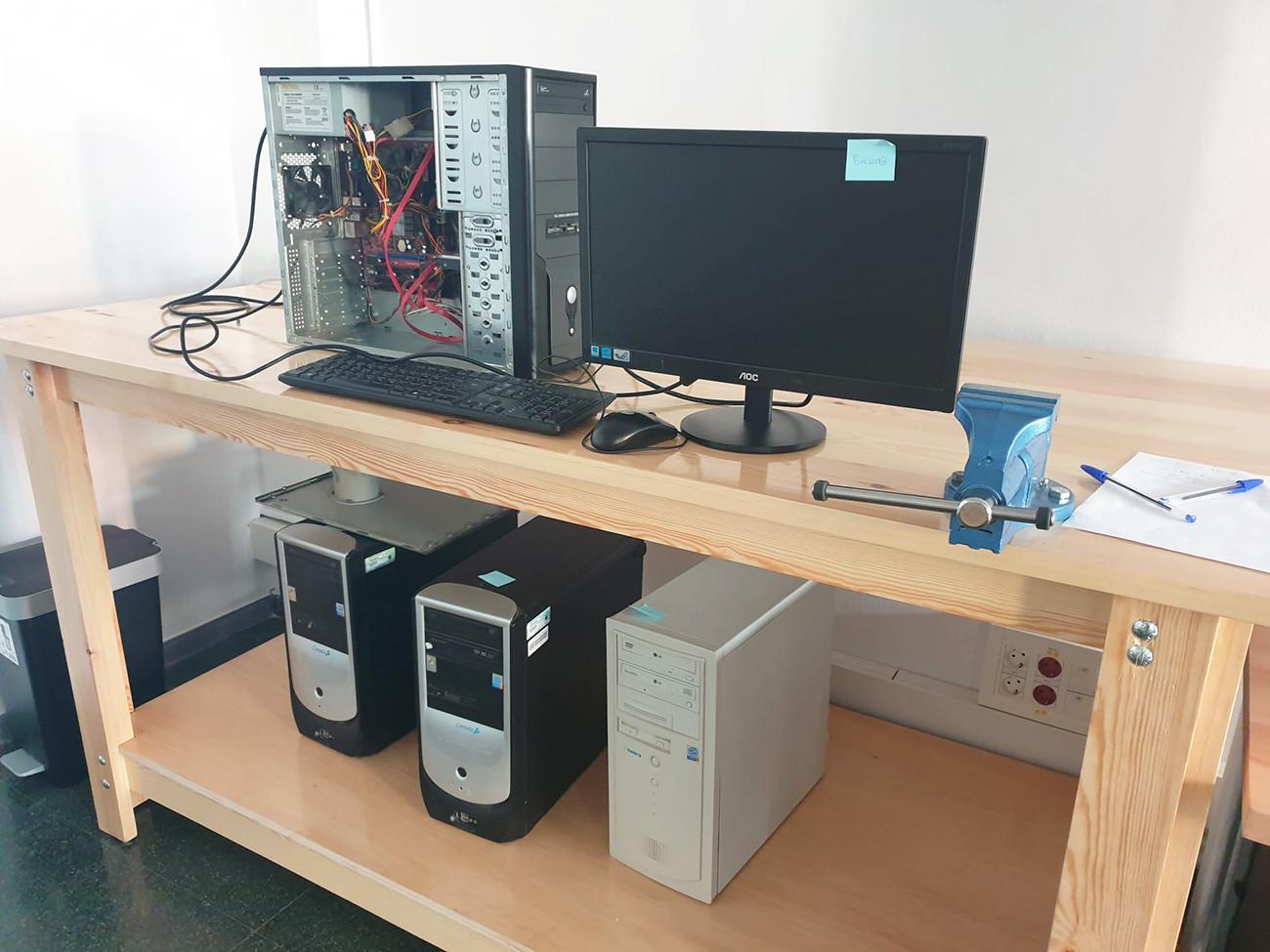 Granollers crea un punt de recuperació d'equips informàtics obsolets